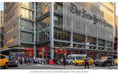 "Bari Weiss. Kodėl palieku ""The New York Times"""